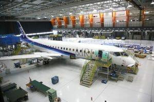 MRJ、パリ・エアショーで機体の地上展示へ