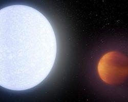 史上最高に熱い惑星「KELT-9b」発見 なんと4300度と恒星並