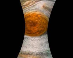 ジュノーが木星「大赤斑」を捉えた! 至近距離からの観測に成功