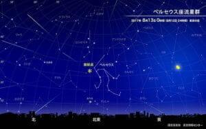 「ペルセウス座流星群」8月13日4時頃に極大! 三大流星群の今年の観測条件は?