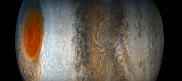 c417b5534db73 以前にも木星の大赤斑の接近観測を行い、その新たな姿を次々と解き明かしている探査機「ジュノー」。そのジュノーが撮影した木星からのデータを天文愛好家のEichstädt  ...