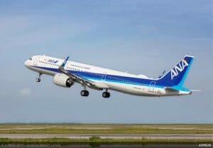 ANA、エアバスから「A321neo」導入 9月中旬に国内線就航 全席シートモニター装着