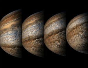 探査機「ジュノー」が捉えた、嵐渦巻く木星の新たな姿