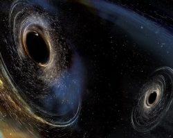 「重力波」4度目の観測 欧州Vrigo ブラックホール同士が衝突か