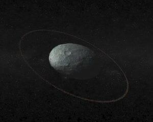 準惑星「ハウメア」にリングが存在 エッジワース・カイパーベルトの小型天体