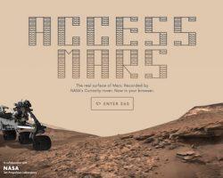 火星を探査機気分で探検できる「Access Mars」 グーグルが公開
