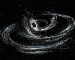 重力波「GW170608」新たに観測 軽量級のブラックホールの合体