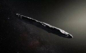 太陽系に飛来した「オウムアムア」 葉巻のように細長く回転する天体だった