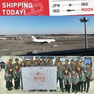 SORATO、インドへ! 月面探査レース日本チーム「HAKUTO」送り出す