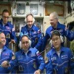 金井宇宙飛行士ら宇宙ステーションに到着 約6ヶ月の滞在開始