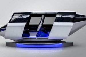 ベル・ヘリコプター、空飛ぶタクシーのデザイン公開