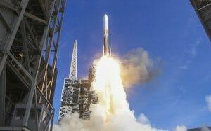 「デルタIV」ロケット、アメリカ国家偵察局「NROL47」打ち上げ