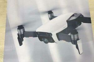 DJIの新型折りたたみドローン「Mavic Air」画像がリークか