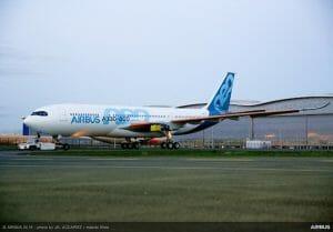 エアバスA330-800がロールアウト 2018年半ばの初飛行を予定
