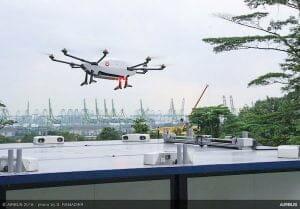 エアバス、商用配達ドローン「Skyways」の初飛行デモに成功
