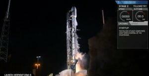 スペースX「ファルコン9」打ち上げ実施 通信衛星「Hispasat 30W-6」搭載