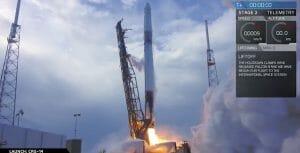 スペースX「ファルコン9」打ち上げ成功 再使用補給船で宇宙ステーションへ