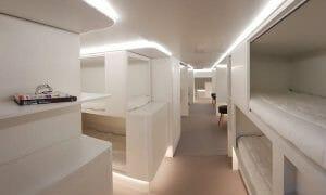 エアバス、貨物室用の寝室コンセプトを公開 ゾディアックと2020年までに開発