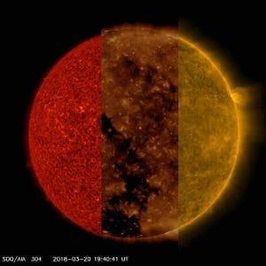 太陽を3つの視点で見てみると……