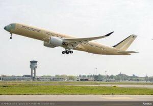 エアバス「超長距離型A350 XWB」初飛行を実施 2018年後半に運行開始予定