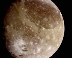 ガリレオが捉えた木星の月「ガニメデ」