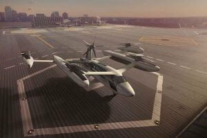 Uber、空飛ぶタクシーの新プロトタイプを披露 チルトローター廃止