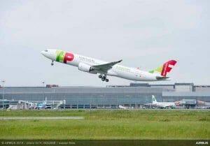 TAPポルトガル航空の「エアバスA330neo」が初飛行