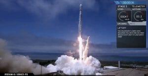 スペースX「ファルコン9」打ち上げ成功 NASA「GRACE-FO」と「Iridium Next」投入