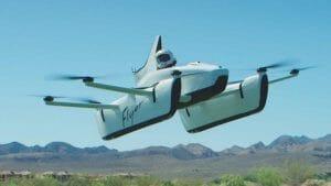 キティ・ホーク、一人乗りの小型電動飛行機を披露 グーグル創業者出資