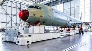 エアバス、4番目のA320ファミリー製造ラインをハンブルクにてスタート
