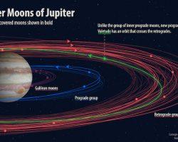 木星にて新衛星を12個発見 合計79個に