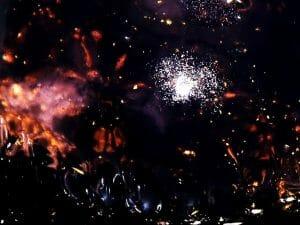"""""""そこ""""に銀河が広がっていた。リュウグウをイメージした水ゼリー"""
