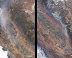 カリフォルニアで荒れ狂う大火災