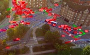 テラドローン、ドローン空撮の交通量計測ソフトウェアを開発。AIによる自動認識も可能