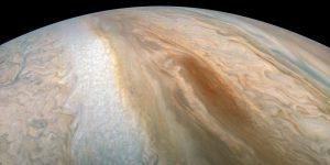木星の茶色い楕円形模様「ブラウンバージ」の姿