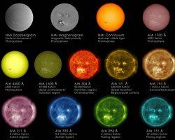 太陽って何色?SDOが観測した13種類の「顔」