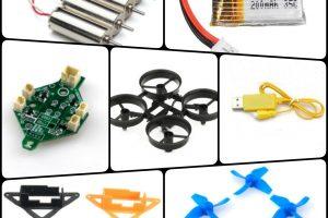 自作や修理用に!簡単な小型ドローン部品を解説