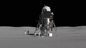 再使用可能な有人月着陸船、ロッキード・マーティンがイメージ公開