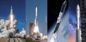 ブルー・オリジンら3社、米空軍と20億ドル規模の打上げ機契約