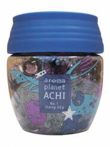 宇宙の香りがする芳香剤「aroma planet ACHI」 日本一の星空の村で発売開始