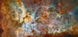 「イータカリーナ星雲」繰り返し果てようとする恒星が生み出した芸術