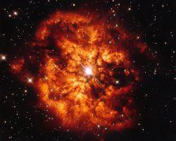 いて座の超新星爆発した天体。WR124が作り出すM1-67