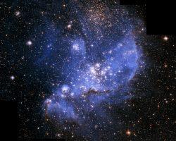 「NGC 346」の鮮やかに輝く美しい姿