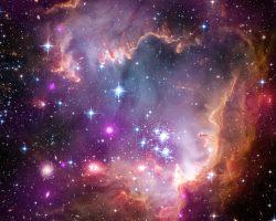 宇宙望遠鏡3基が捉えた小マゼラン雲の散開星団