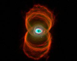 WFPC2が明らかにした砂時計星雲「MyCn18」