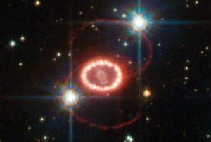 大マゼラン雲で発生した超新星爆発