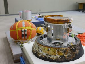 「こうのとり7号機」の小型回収カプセルが一般公開。12月15、16日は筑波宇宙センターへ!