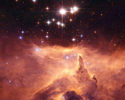 宇宙の夕焼けと大質量連星「ピスミス24-1」