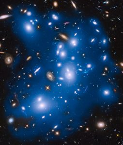 「パンドラ」と名付けられた銀河団の複雑な構造