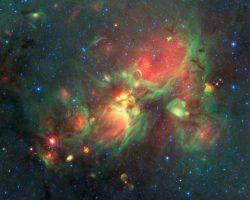 可視化で発見された星誕生の「黄色い玉」